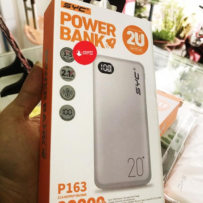 Sạc Dự Phòng Power Bank 20.000mAh